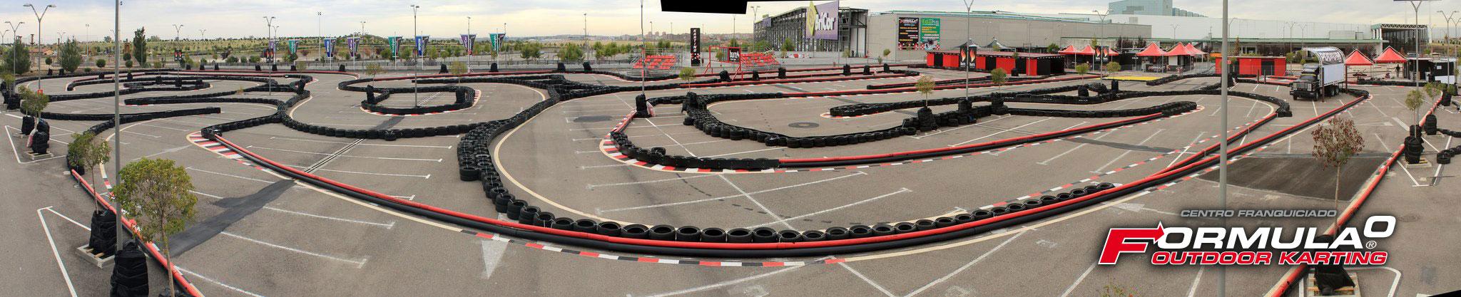 Circuito Karts Madrid : Se inaugura el próximo viernes día de diciembre la