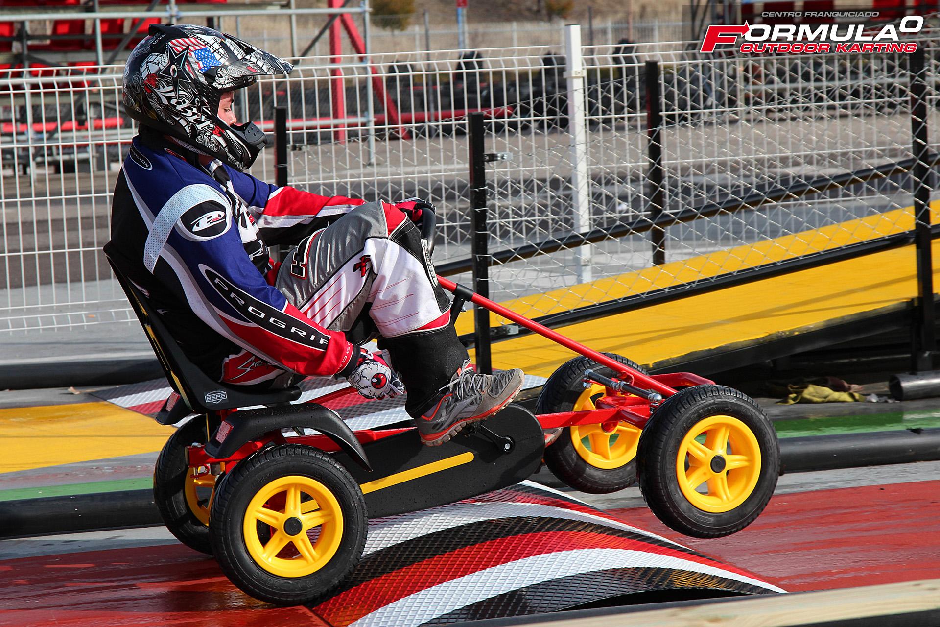 Formula StreeTT: Karts a pedales, pon al límite tu cuerpo y tu mente