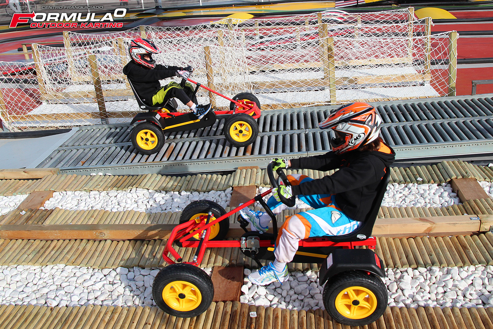 Circuito Karts : Pista streett kart a pedales formulacero outdoor karting