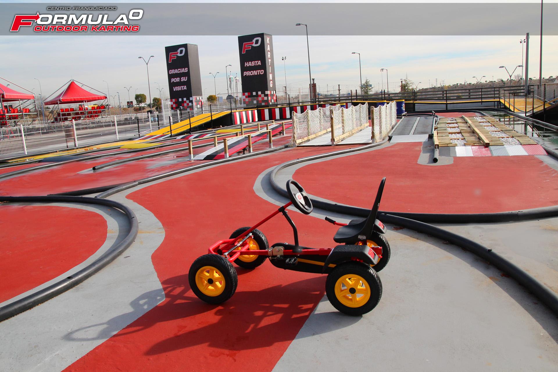 Circuito Karts Pedales