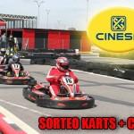 Sorteo de entrada kart + cine, pasate por nuestro facebook!!!