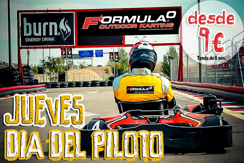 En 2015, vuelve el día del piloto, desde mañana jueves